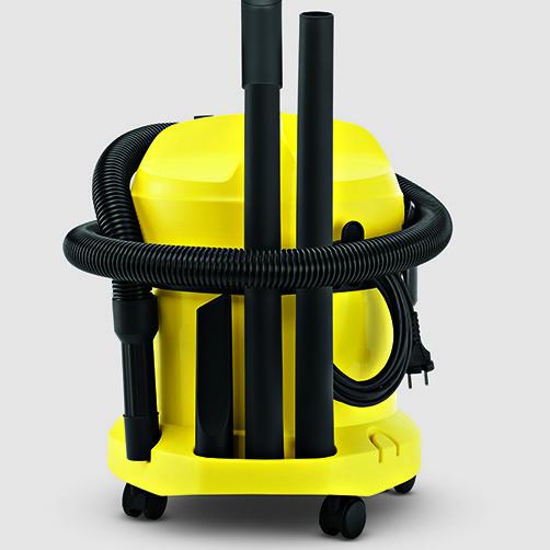 Хозяйственный пылесос WD 2 Cartridge Filter Kit: Удобное и практичное хранения кабеля и аксессуаров