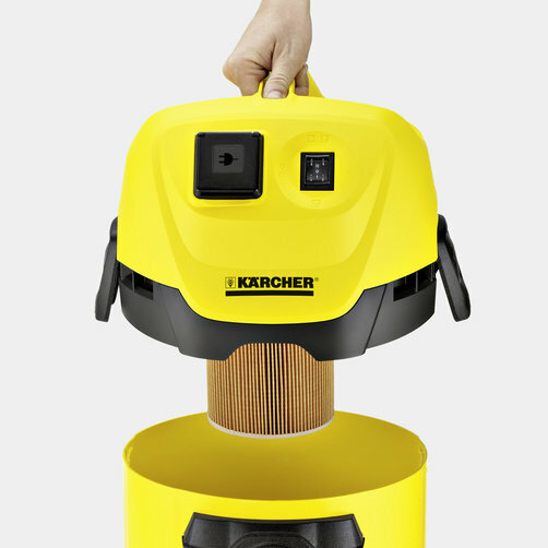 Wet and Dry Vacuum Cleaner WD 3 P: Special cartridge filter