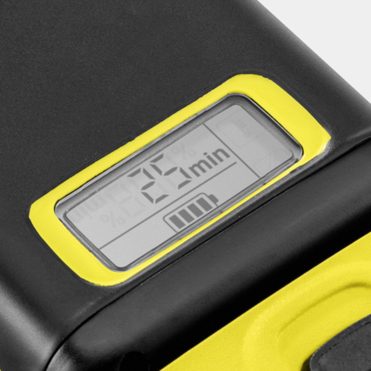 Baterie 36V / 2,5Ah: Inovativní Real Time Technology