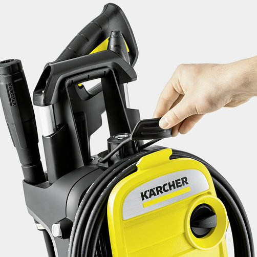 High pressure washer K 5 Compact: Hose storage concept
