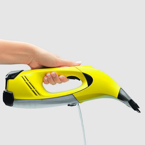 Limpador de Vidros WV 50 Plus: Completamente higiênico