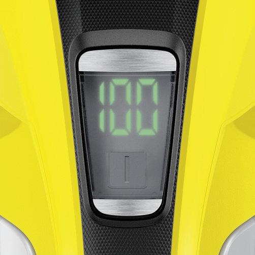 Čistič okien WV 6 Plus: Extra dlhá výdrž batérie