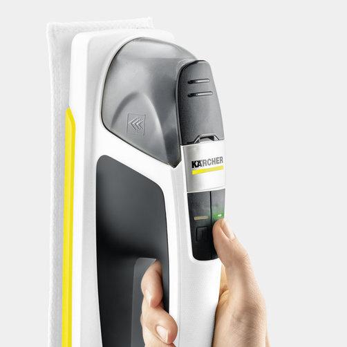 Оконный пылесос KV 4 Premium: Электрическая система увлажнения