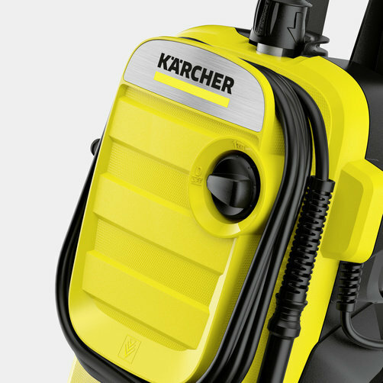мойка высокого давления K 4 Compact: Хранение шланга на передней панели