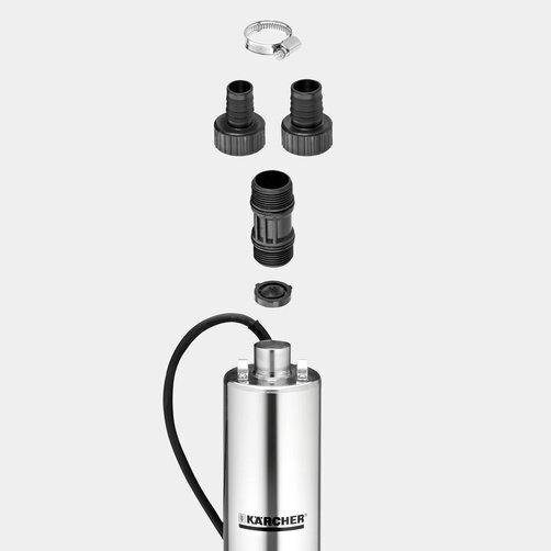 Ponorné tlakové čerpadlo Ponorné čerpadlo tlakové BP 6 Deep Well: Vrátane pripájacieho adaptéra pre čerpadlo a spätného ventilu
