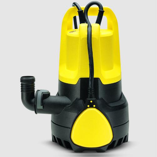 مضخة الماء القذرة الغاطسة SP 3 Dirt: تعويم التبديل