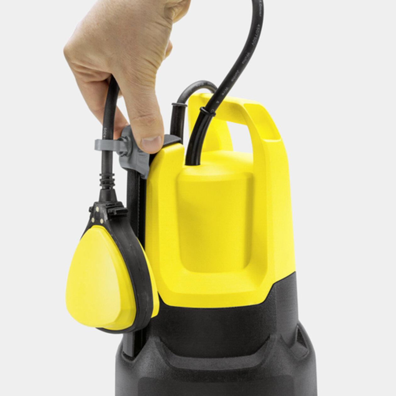 Szennyezettvíz merülőszivattyú SP 5 Dual: Állítható magasságú úszókapcsoló