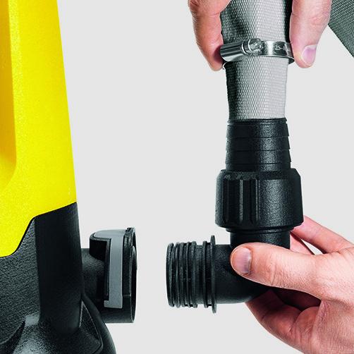 Βυθιζόμενη αντλίαSP 7 Dirt Inox: Quick Connect