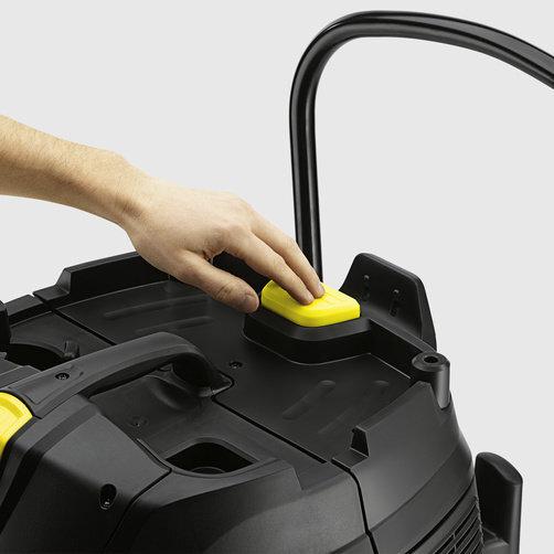 Пилосос сухого і вологого прибирання NT 75/2 Ap Me Tc: Напівавтоматична система очищення фільтра ApClean