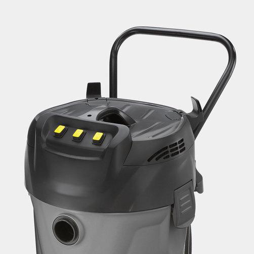 Wet and dry vacuum cleaner NT 70/3 Me Tc: Ergonomic push handle