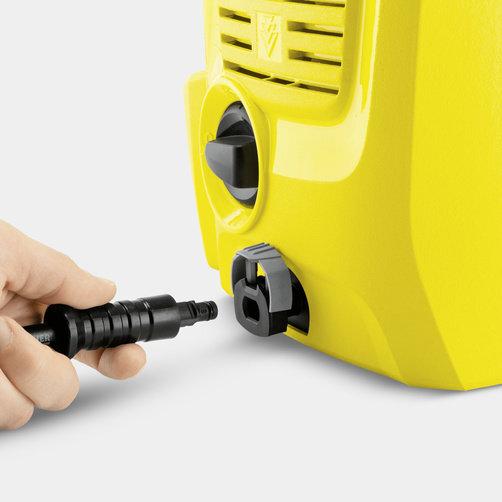Tlaková myčka K 2 Universal: Systém Quick Connect