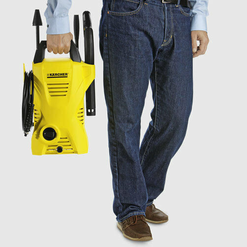 High pressure washer K 2 Compact VPS *ZA: Sits comfortably in the hand