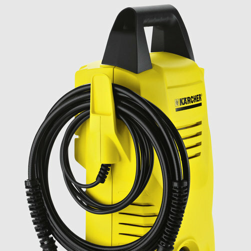 High pressure washer K 2 Compact: Hooked on tidiness