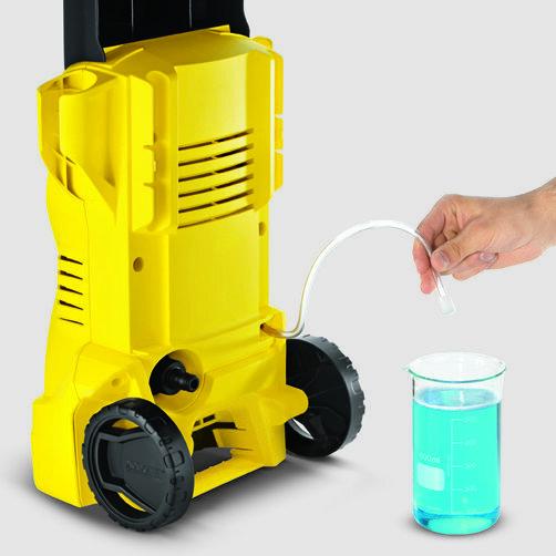Мини-мойка K 2: Мощность, достаточная для очистки