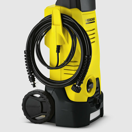 High pressure washer K 3: Hooked on tidiness
