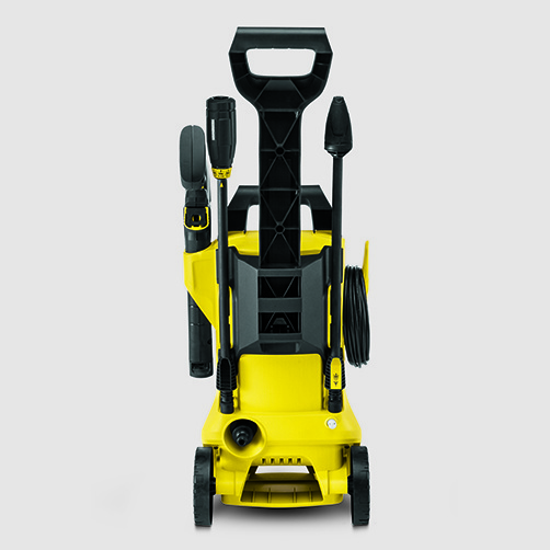 Pressure washer K 2 Full Control: Supports for accessories, high-pressure gun and cable