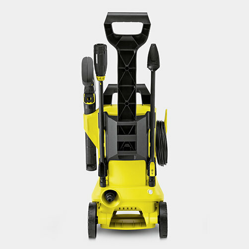 Pressure washer K 2 Full Control Car & Home *GB: Supports for accessories, high-pressure gun and cable