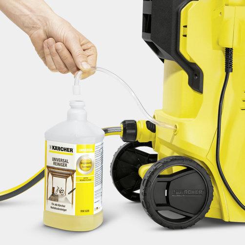 Мини-мойка K 2 Full Control: Работа с чистящими средствами