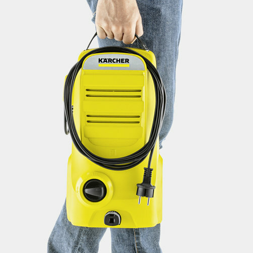 Pressure washer K 2 Compact: Sits comfortably in the hand