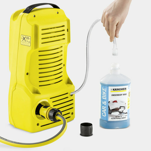 Pressure washer K 2 Compact: Full cleaning power