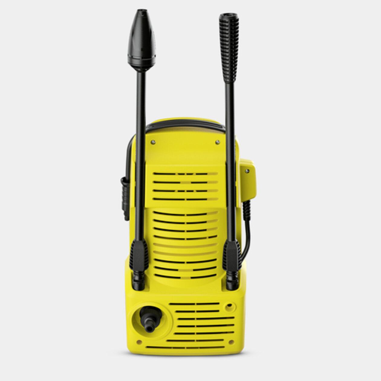 Vysokotlakový čistič K 2 Compact: Odkladanie príslušenstva na stroji