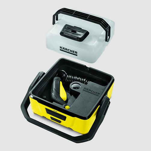 Mobile Outdoor Cleaner OC 3: Diseño compacto del equipo