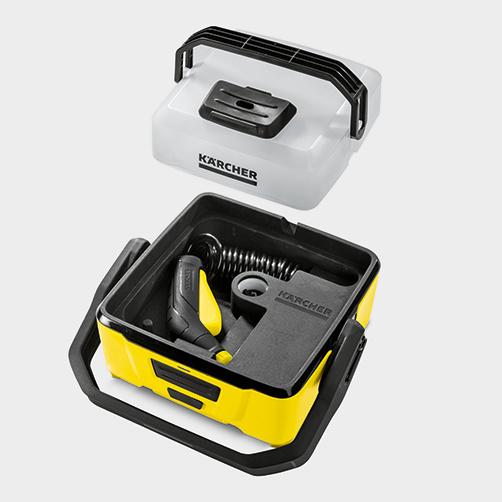 Mobile Outdoor Cleaner OC 3: Kompakt makine tasarımı