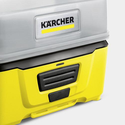 Mobilní outdoorová myčka OC 3 Adventure Box: Integrovaná lithium-iontová baterie