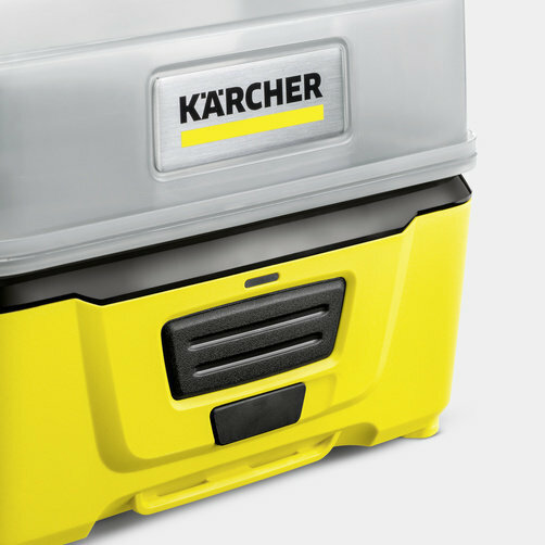 Mobile Outdoor Cleaner OC 3: Beépített lítiumion-akkumulátor