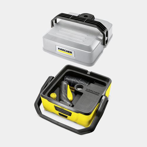 Mobilní outdoorová myčka OC 3 Adventure Box: Promyšlený koncept uložení