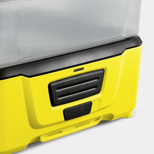 Mobile Outdoor Cleaner OC 3 Plus: Beépített lítiumion-akkumulátor