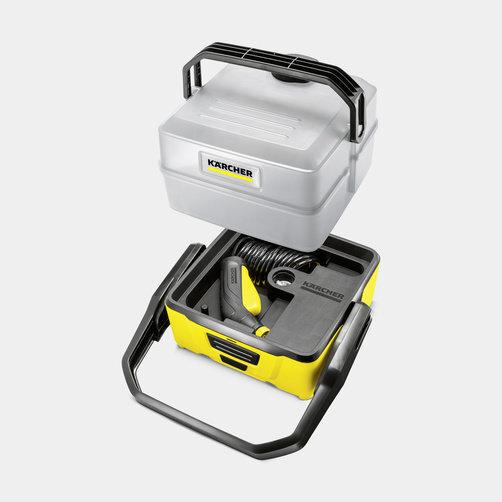 Mobile Outdoor Cleaner OC 3 Plus: Kompakt kialakítás