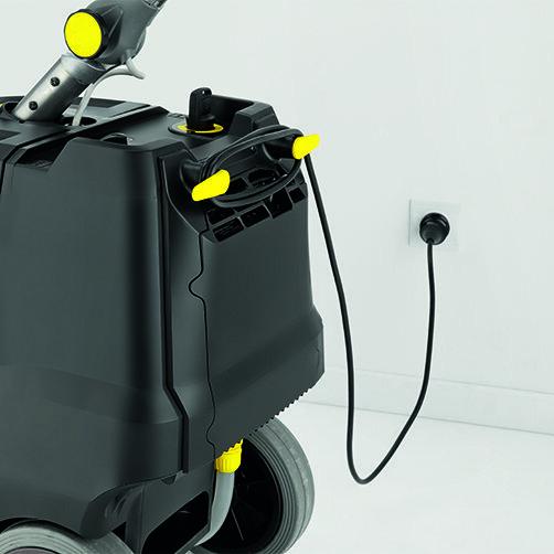 Podlahový mycí stroj s odsáváním BD 38/12 C Bp Pack: Včetně výkonné vestavěné nabíječky