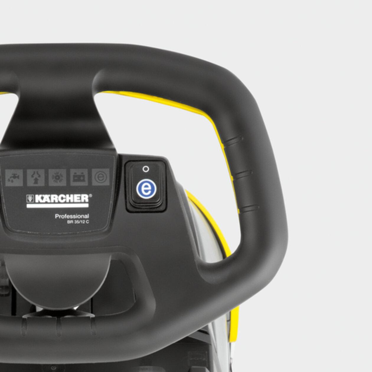 Podlahový mycí stroj s odsáváním BR 35/12 C Bp Pack *EU: Energeticky úsporný režim eco!efficiency