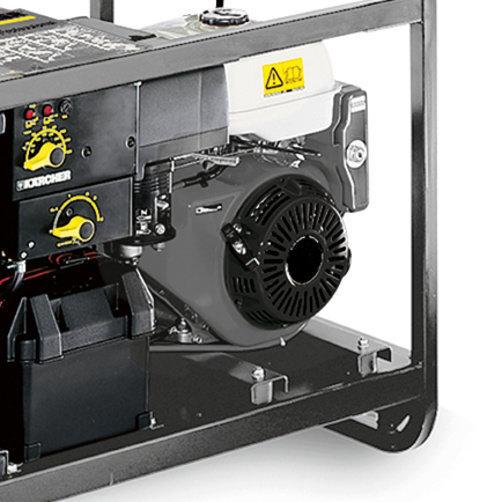 Hogedrukreiniger HDS 1000 De: Zuinige diesel-verbandingsmotor