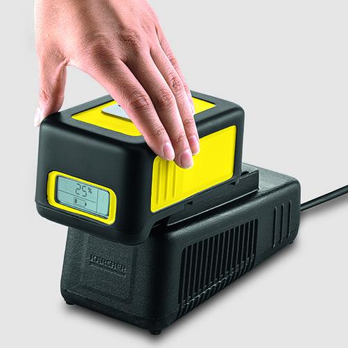 K 2 Battery: Alimentación por batería