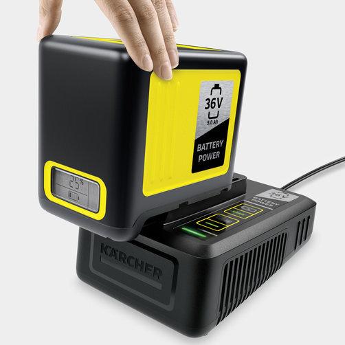 Быстрозарядный комплект 36 В 5,0 А: Быстрозарядное устройство 36 В