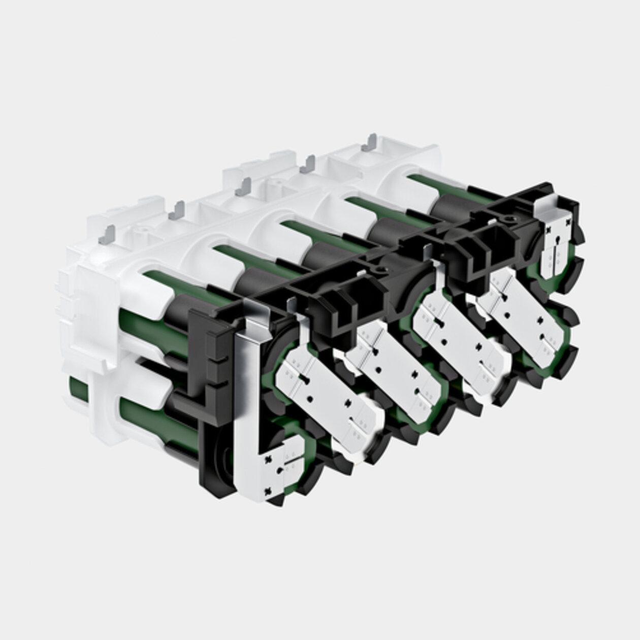 Baterie 36V / 2,5Ah: Výkonné lithium - iontové články