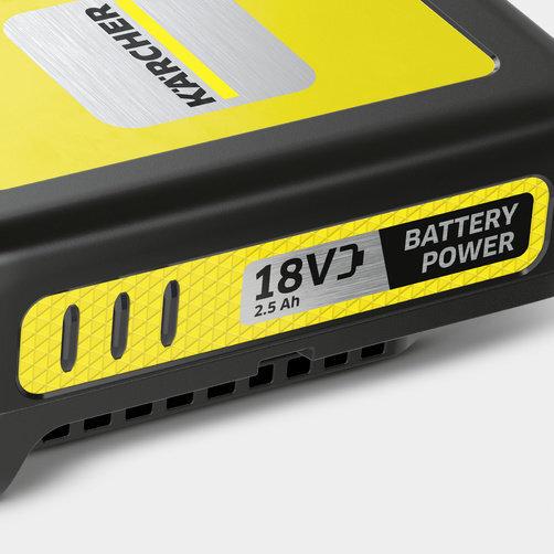 Súprava batérie a rýchlonabíjačky 18 V/ 2,5 Ah: Systém vymeniteľných batérií 18 V Battery Power