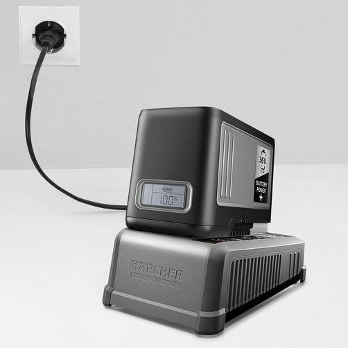 Rychlonabíječka 36 V: Kompatibilita