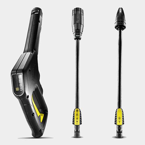 Мини-мойка K 3 Full Control Car: Пистолет Full Control и струйные трубки
