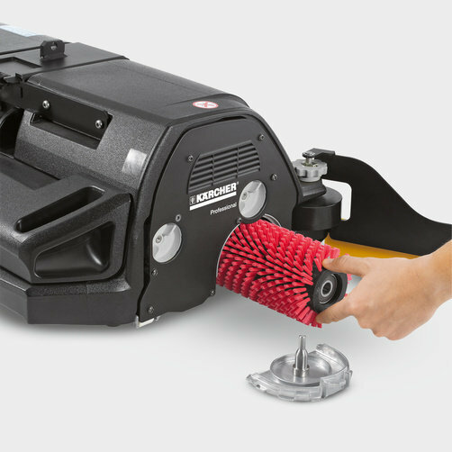 Ride-on floor scrubber B 90 R Adv Bp: Quick replacement