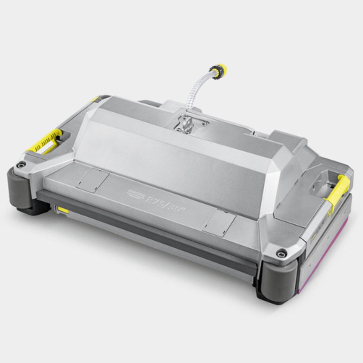Schrob-/zuigmachine B 110 R Bp Pack 170Ah+Dose+SSD+FleetEU+R75: Walsborstelkop met geïntegreerde veegunit