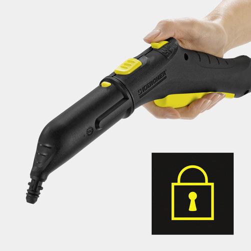 Пароочиститель SC 2 EasyFix: Блокировка от детей на пистолете