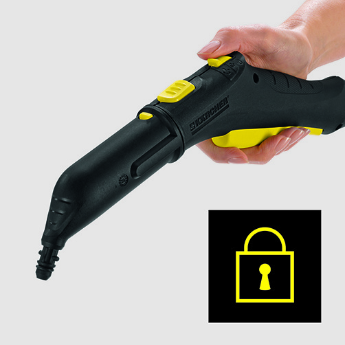 Пароочиститель SC 2 EasyFix: Защита от детей на пистолете