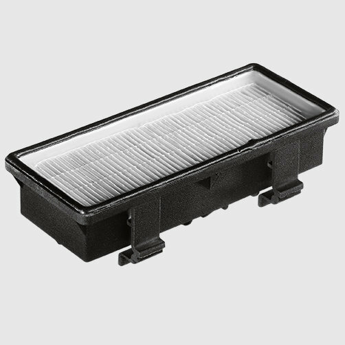 Dry vacuum cleaner T 12/1: HEPA filter for clean exhaust gas