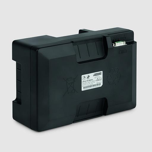 Поломойная машина BD 38/12 C Bp Pack: Высоко производительный литий-ионный аккумулятор
