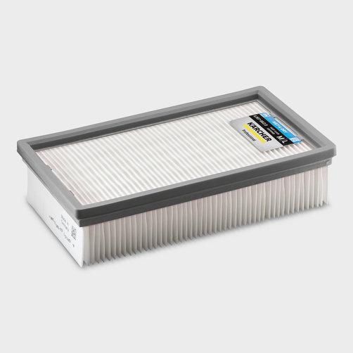 Speciális porszívó NT 40/1 Tact Bs: Hőálló PES lapos redős szűrő