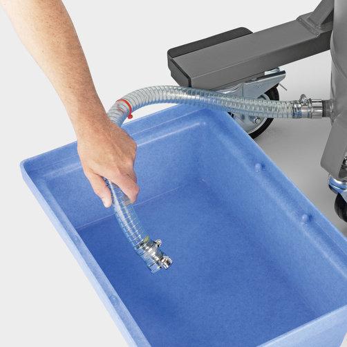 IVR-L 100/24-2 Tc Dp: Komfortní, manuální a bezpečné vyprazdňování kapalin
