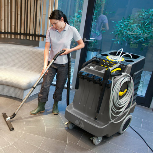 High pressure washer AP 100/50 M: Including vacuum function